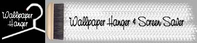 Automatically hang your wallpaper