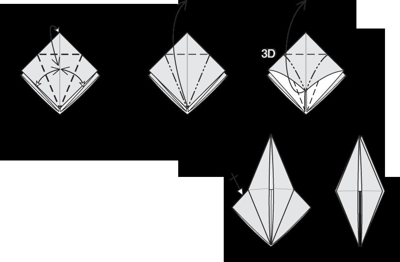 origami bird base instructions wwwpixsharkcom images